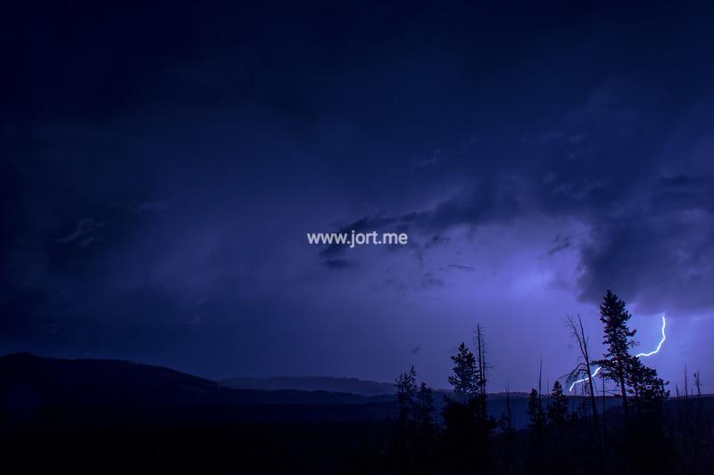 First lightning