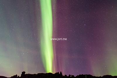 Aurora Borealis all the way up