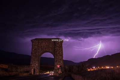 Thunder beyond the Arch