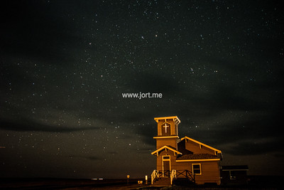 Little Church under the stars