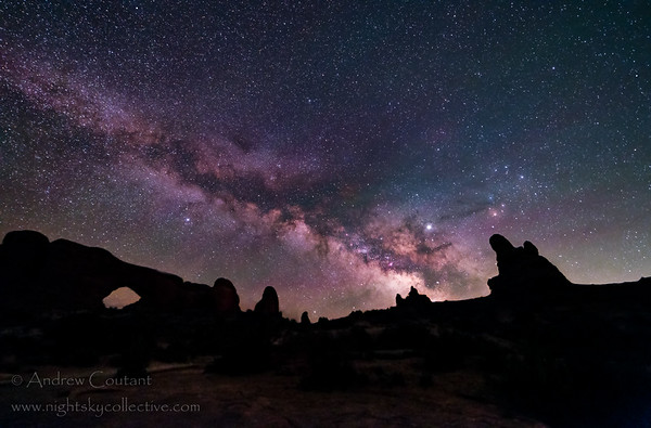 Milky way over North Window ANP 6-16--7