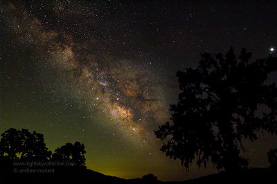 Milkyway Field at Lake San Antonio 8stack rokinon 14mm on t3i