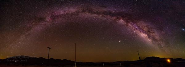 Joushua Tree Milkyway Panorama 1