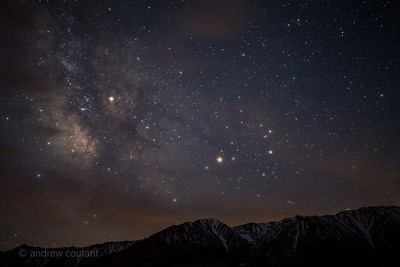 Eastern sierra milkyway Tuttle Creek Lone Pine Ca-1