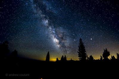 Milky way Pinecrest peak-1
