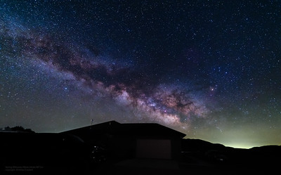 Spring Milkyway over Mike and Erins house - Mancos--2