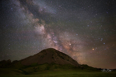 Bear Butte Milky Way.