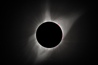Solar Corona During Totality.