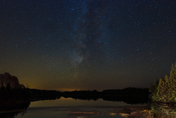Milky Way above the Lake