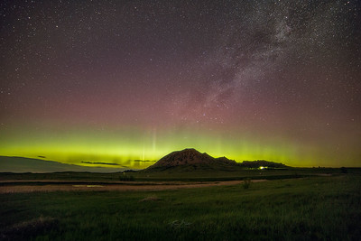 Bear Butte Northern Lights.