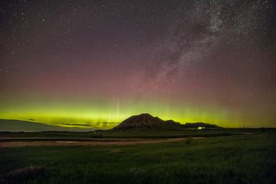 Bear Butte Northern Lights.