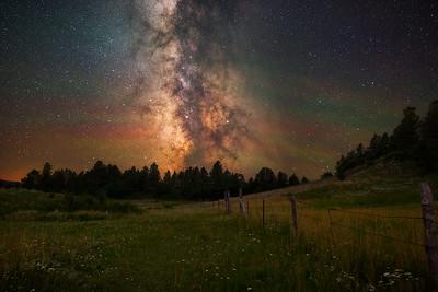 Pastoral Night Sky