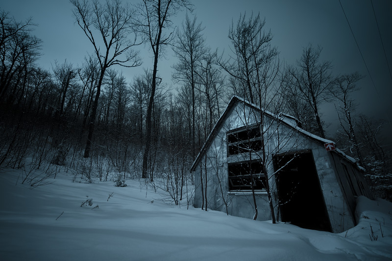 Gloomy Night at the Shed - II