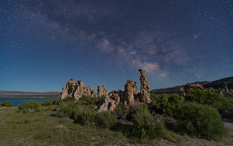 Milky Way over Mono Lake