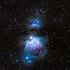The Great Orion Nebula and the Running Man.