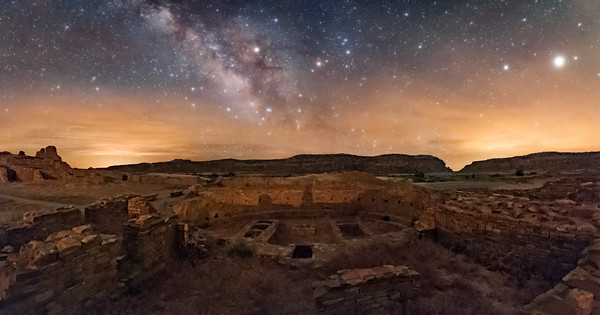 Great Kiva, Pueblo Bonito, Chaco Canyon