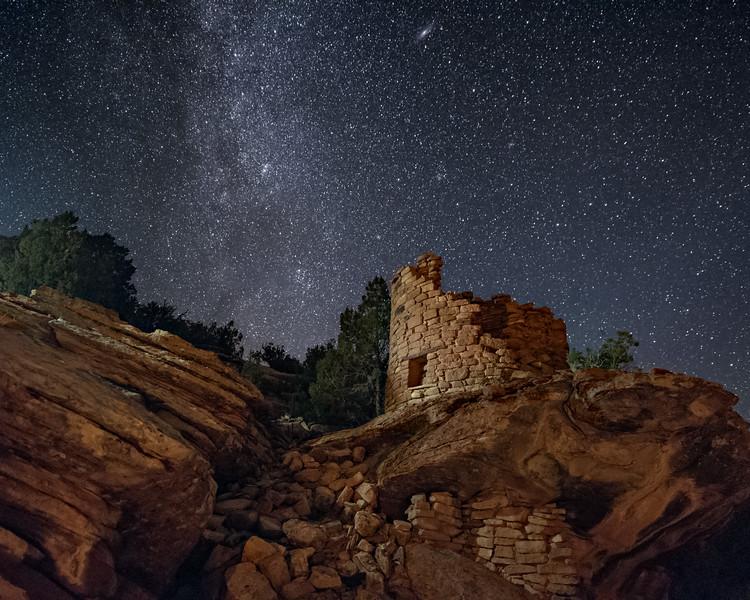 Painted Hand Pueblo Ruins