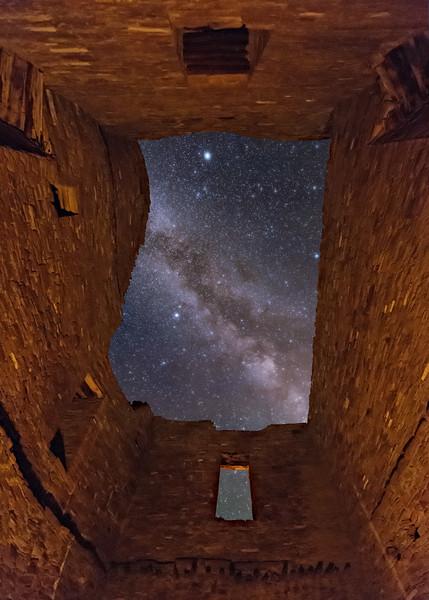 Inside Pueblo Bonito Ruins 4