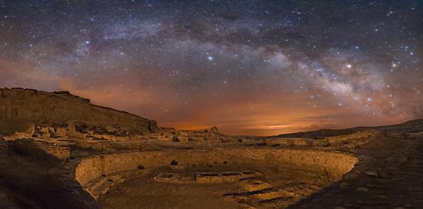 Pueblo Bonito Ruins, Great Kiva