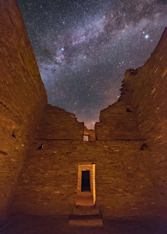 Inside Pueblo Bonito Ruins 1