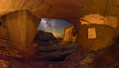 Ancient Pueblo or Anasazi  Ruins