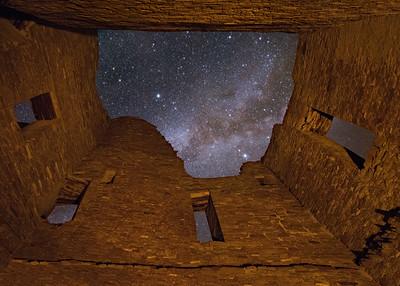 Inside Pueblo Bonito Ruins 3