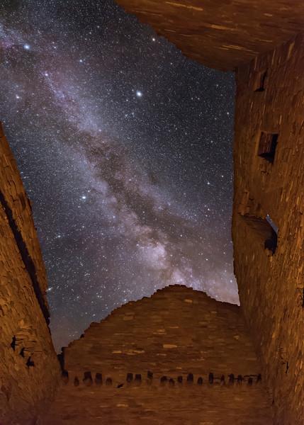 Inside Pueblo Bonito Ruins 6