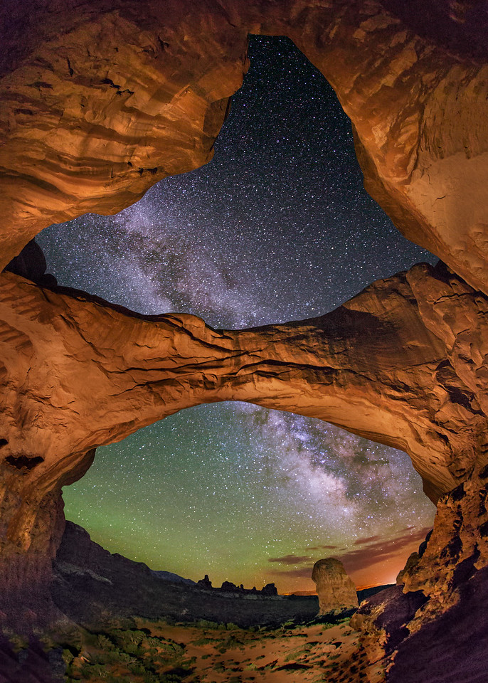 Double Arch Looking Outward