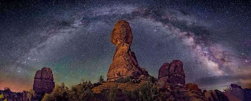 Balanced Rock Panorama