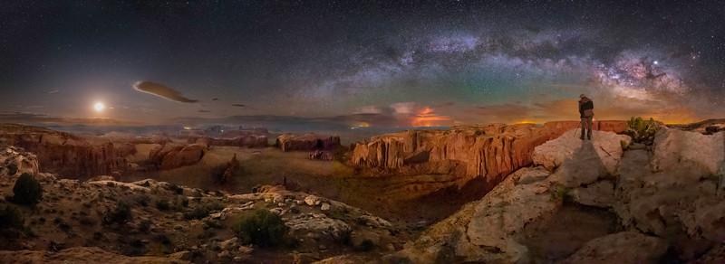Hunt's Mesa Panorama