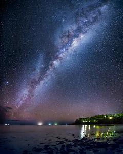 The Milky Way by the Coral Sea (1)