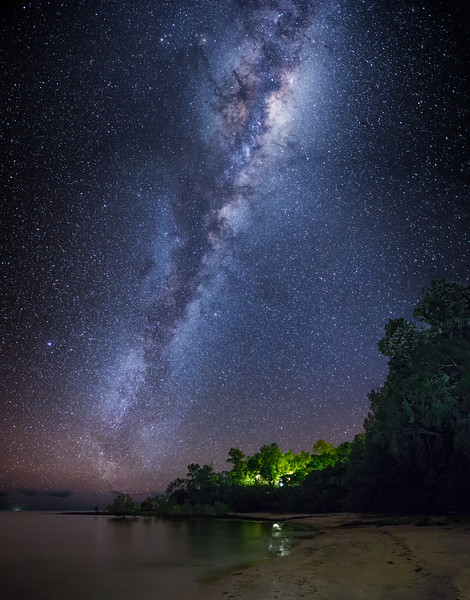 The Milky Way by the Coral Sea (2)