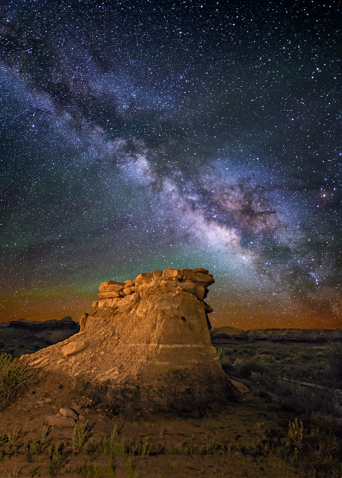 Bisti Badlands Hoodoo