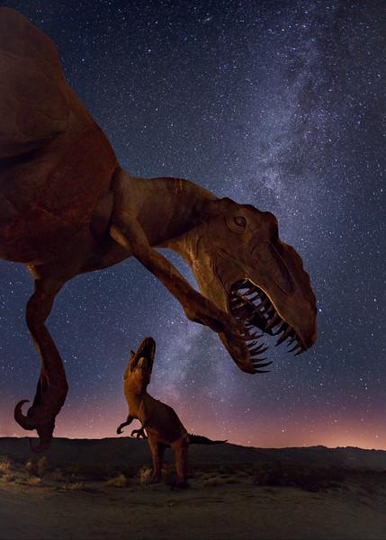 Allosaurus and Carnotaurus