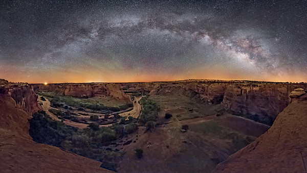 Canyon de Chelly Panorama   (2)