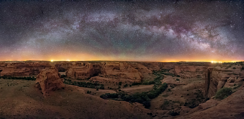 Canyon de Chelly Panorama  (3)