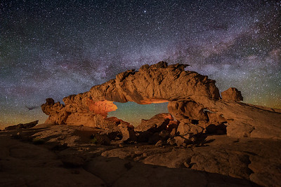 Sunset Arch at Night, Dragon View