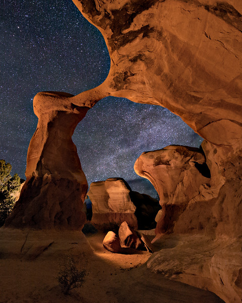 Metate Arch