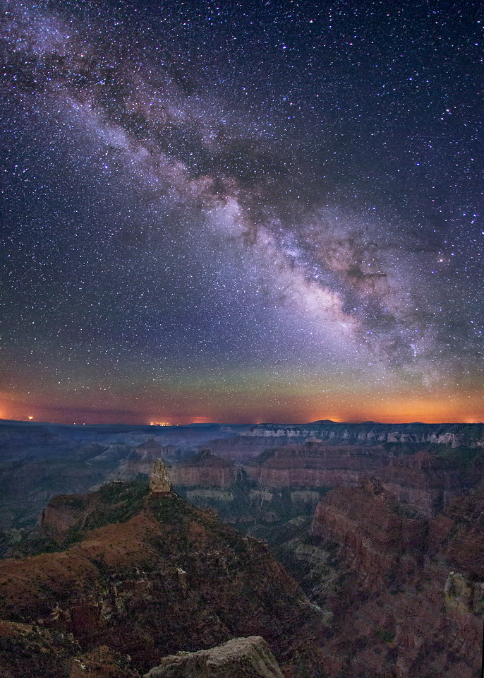 Grand Canyon at Night, Imperial Point