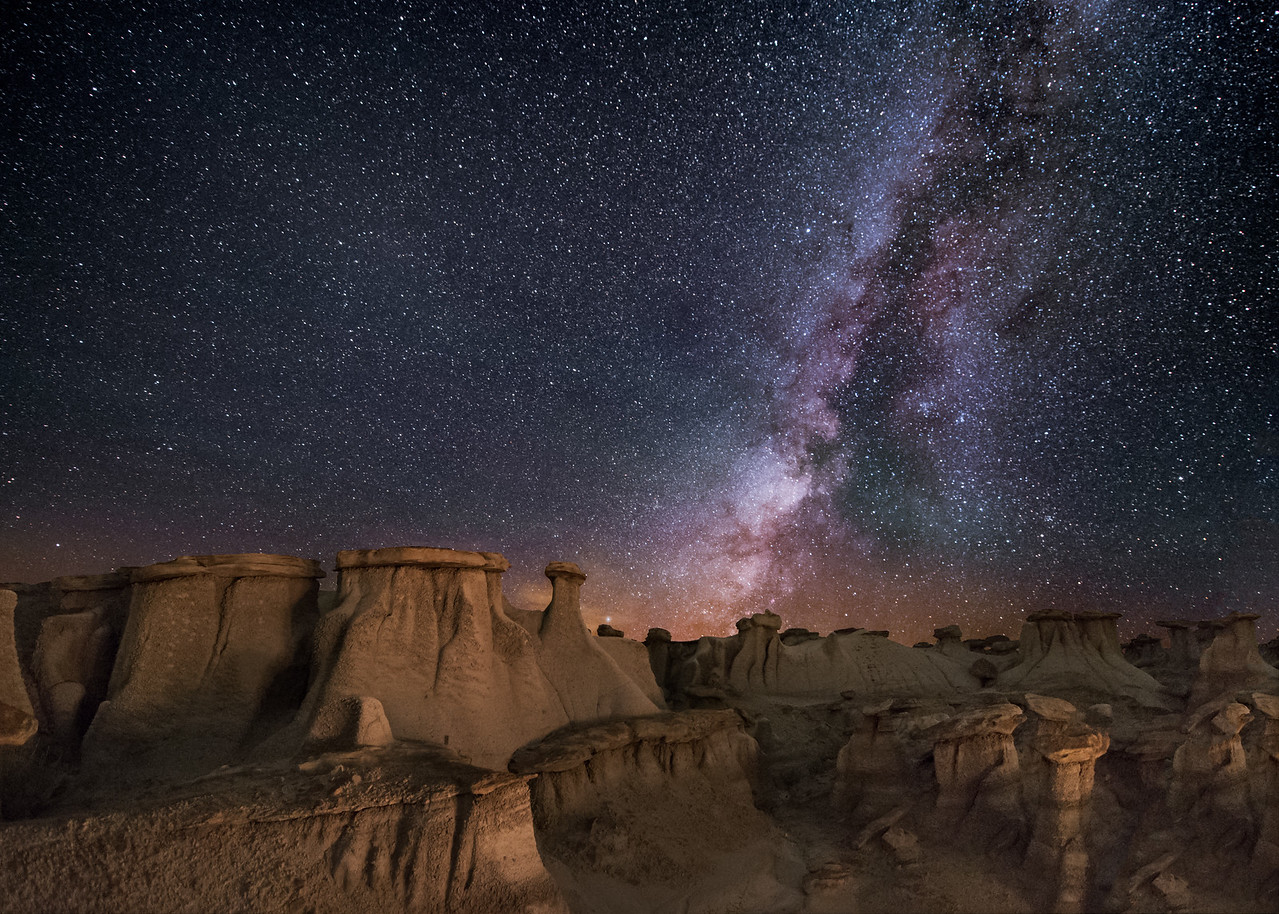Hoodoos in the Valley of Dreams