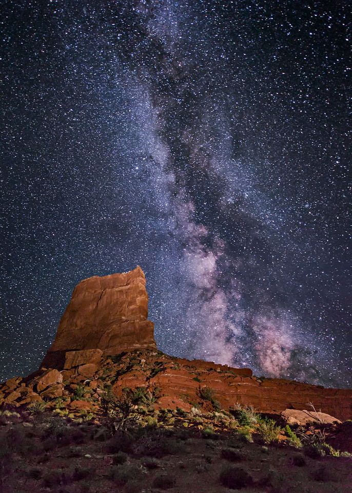 Castle Butte, Valley of the Gods