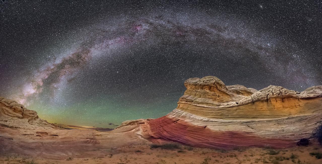 White Pocket Panorama