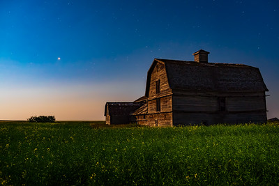 Mars and the Grand Old Barn