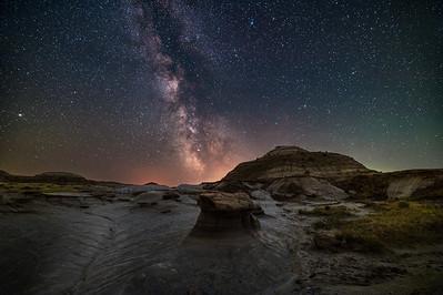 Summer Milky Way at Dinosaur Park