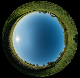 Sky Polarization Panorama
