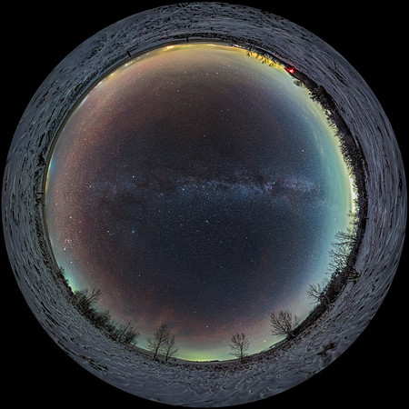 Autumn All-Sky Panorama