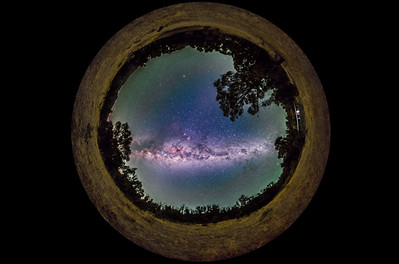 Panorama of the Southern Milky Way (Spherical)
