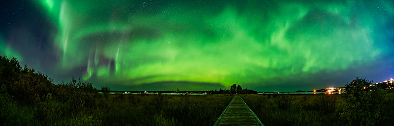 Boardwalk to the Northern Lights