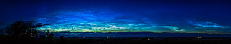 Grand Noctilucent Cloud Display (June 7, 2020)