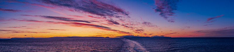 Sunset on the Barents Sea
